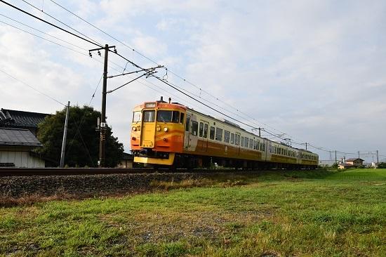 2019年8月10日 315M 115系台湾特急色