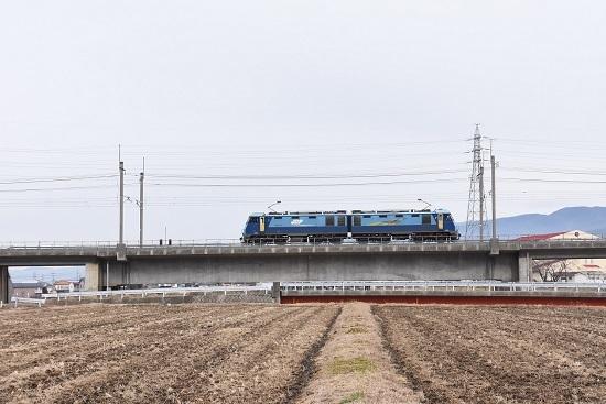 2020年1月12日撮影 東線貨物2083レ EH200-18号機単回