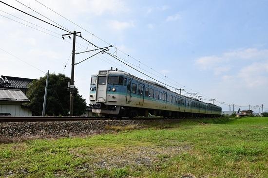 2019年8月10日 321M 115系長野色