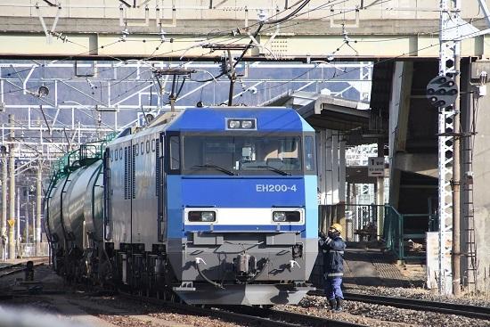 2020年1月18日撮影 南松本にて東線貨物2080レ 機回し3