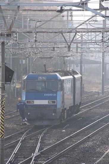 2019年11月23日撮影 東線貨物2080レ 南松本機回し中