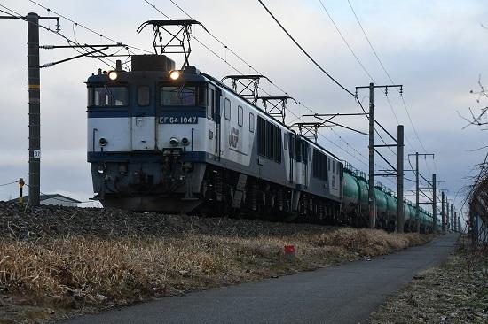 2020年1月4日撮影 西線貨物6088レ