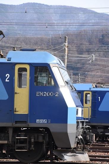2020年1月19日撮影 南松本にてEH200-2号機の横顔