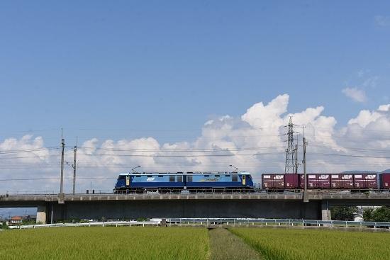2019年8月26日 東線貨物2083レ EH200-20号機