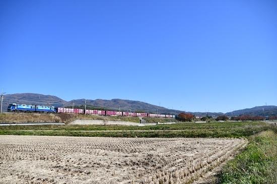 2019年11月5日撮影 東線貨物2083レ EH200-13号機