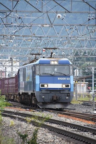 2019年8月27日 東線貨物2083レ EH200-22号機 正面から