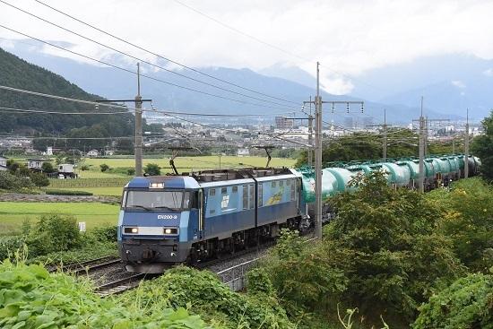 2019年8月28日 東線貨物2080レ EH200-9号機