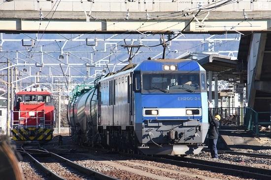 2020年2月1日撮影 南松本にて2080レ 無線機返却
