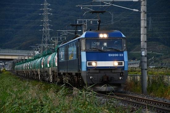2019年10月4日撮影 篠ノ井線2085レ 稲荷山ストレート