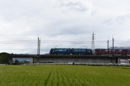 2019年8月28日 東線貨物2083レ EH200-18号機
