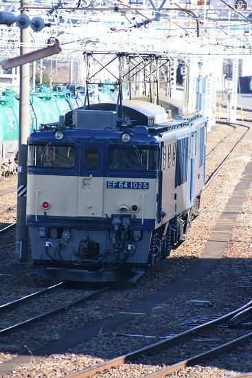 2020年2月1日撮影 南松本にて西線貨物8084レ