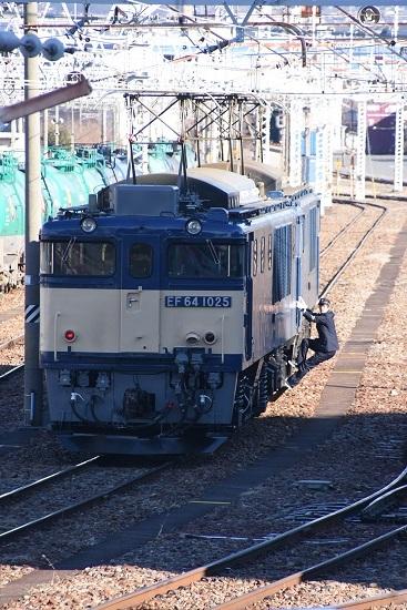 2020年2月1日撮影 南松本にて西線貨物8084レ 仕業点検