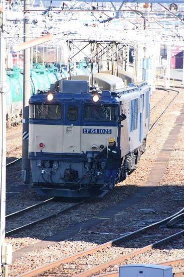 2020年2月1日撮影 南松本にて西線貨物8084レ 機回し発車