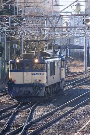 2020年2月1日撮影 南松本にて西線貨物8084レ機回し