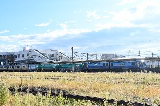2019年10月4日撮影 しなの鉄道84レ EH200-22号機