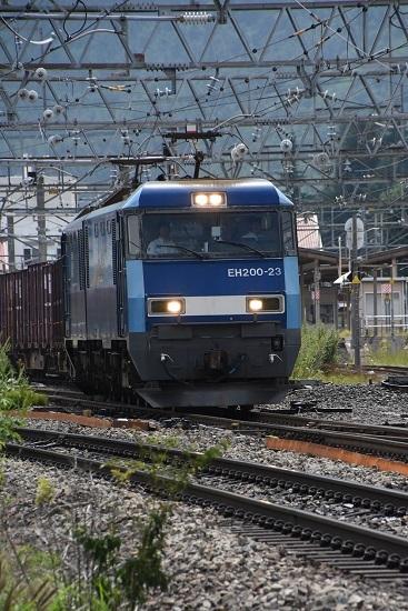 2019年8月29日 東線貨物2083レ 助手席に1人
