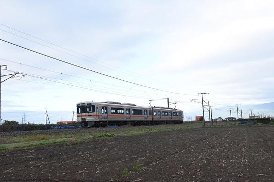 2019年10月13日撮影 313系下り1番列車回送