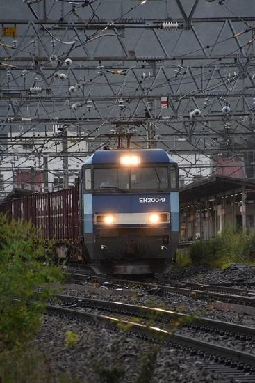 2019年8月30日撮影 東線貨物2083レ EH200-9号機