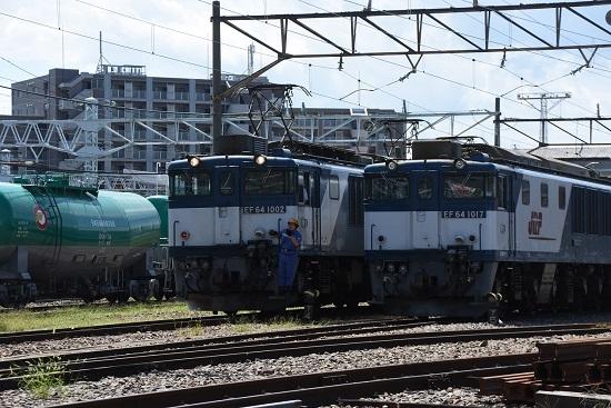 2019年8月31日 篠ノ井線8465レ 誘導員さんを乗せて