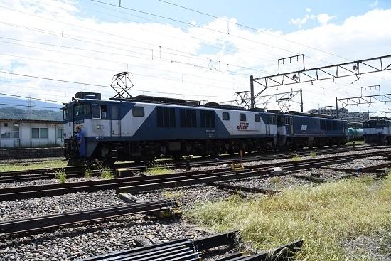 2019年8月31日 EF64-1002+1046号機