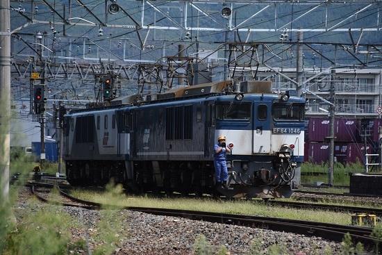 2019年8月31日撮影 篠ノ井線8465レ 機回し
