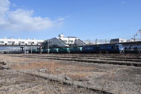 2020年2月2日撮影 篠ノ井線2084レ EH200-12号機と東京メトロ03系