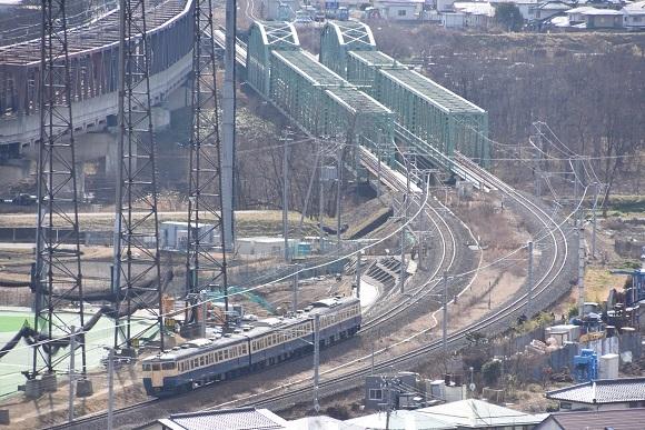 2020年2月2日撮影 しなの鉄道 115系 S16編成 スカ色