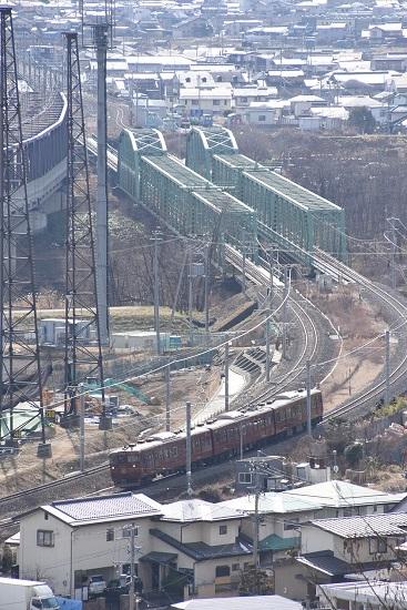 2020年2月2日撮影 しなの鉄道 115系 ろくもん1号