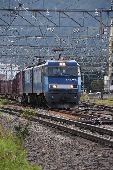 2019年8月31日 東線貨物2083レ 塩尻駅通過