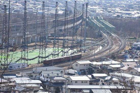 2020年2月2日撮影 しなの鉄道 115系 ろくもん2号