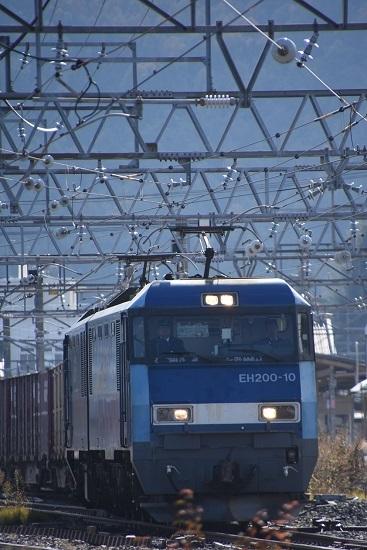 2019年11月8日撮影 東線貨物2083レ EH200-10号機
