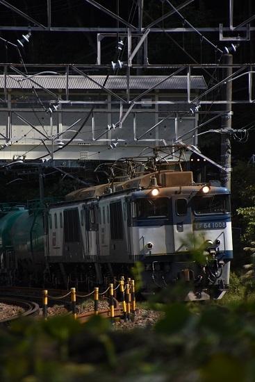 2019年10月15日撮影 西線貨物8084レ 木曽平沢にて