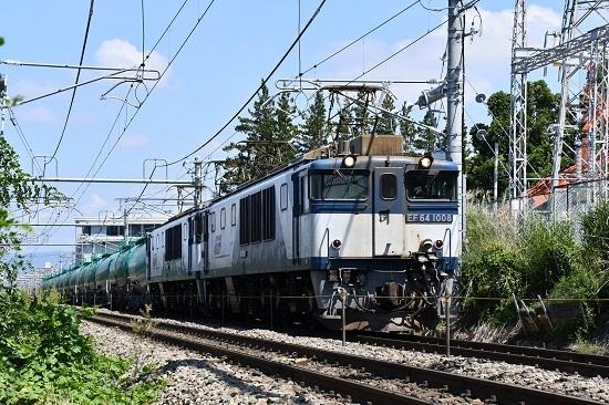 2019年8月26日 西線貨物8084レ EF64-1008+1017号機