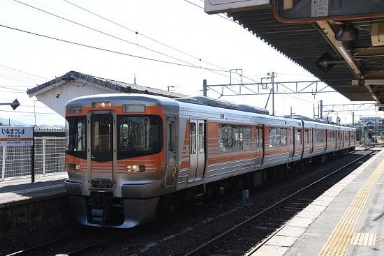 2019年11月9日 飯田線回9123M 伊那松島駅到着