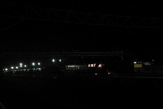 2019年12月8日撮影 カシオペア信州 塩尻大門にて