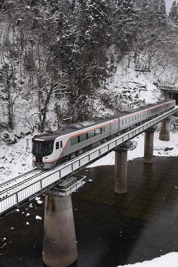 2020年2月9日撮影 高山本線 HC85系試運転