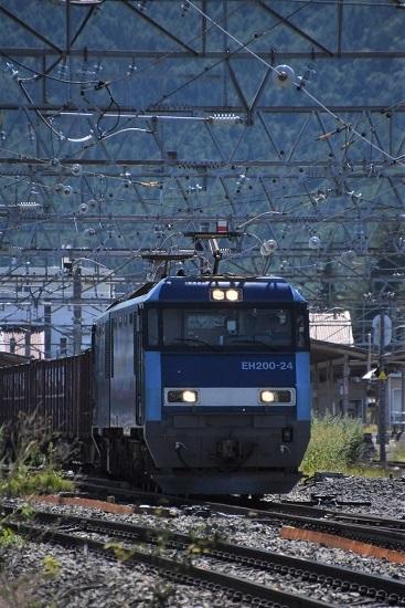 2019年9月7日 東線貨物2083レ EH200-24号機正面から