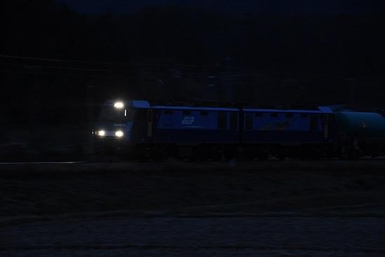 2019年12月8日撮影 EH200-22号機を流して