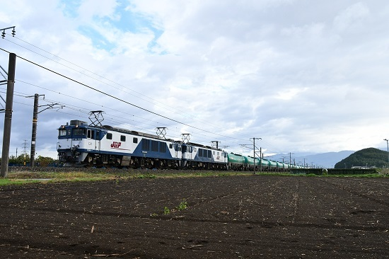 2019年10月8日撮影 西線貨物6088レ