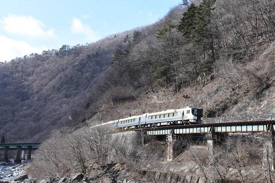 2020年2月9日撮影 高山本線にてHC85系試運転 上り
