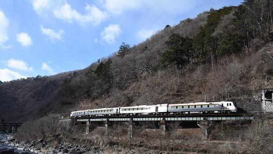 2020年2月9日撮影 飛騨尾坂-渚 HC85系試運転