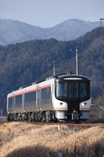 2020年2月9日撮影 飛騨古川-飛騨国府 HC85系試運転