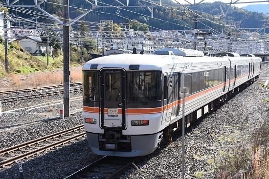 2019年11月10日撮影 373系「中山道トレイン」