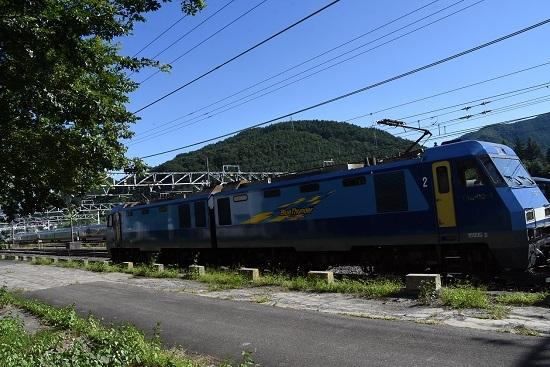 2019年9月7日撮影 東線貨物2084レ EH200-1号機