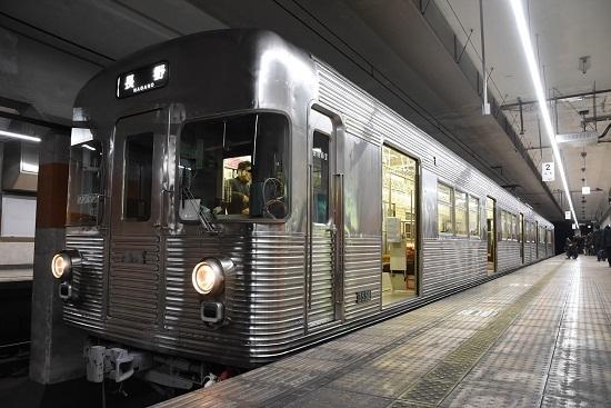 2019年12月8日撮影 長野電鉄3500系 権堂駅