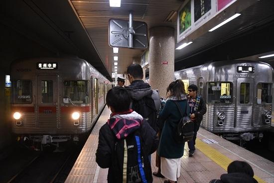2019年12月8日撮影 長野電鉄3500系 長野駅での並び
