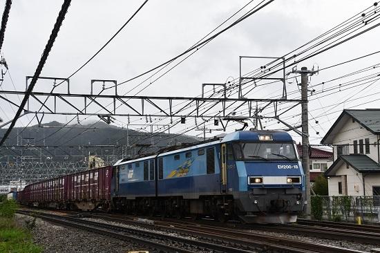 2019年8月28日撮影 東線貨物2083レ EH200-18号機
