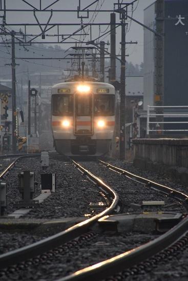 2020年2月16日撮影 北殿駅にて313系の並び その1