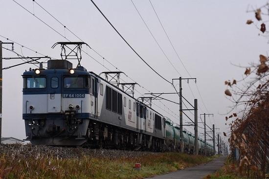 2019年11月12日撮影 西線貨物6088レ