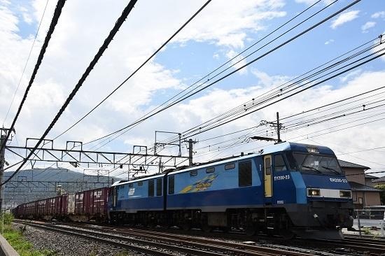 2019年8月29日 東線貨物2083レ EH200-23号機